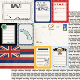 Hawaii - Journal  - 12x12 scrapbookpapier