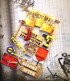 Handyman - 3D Stickers