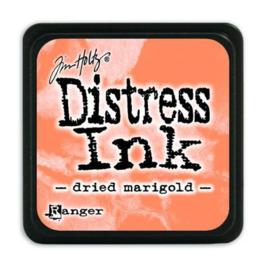 Mini  Distress inkt - Dried Marigold - waterbased dye ink / inkt op waterbasis - 3x3 cm