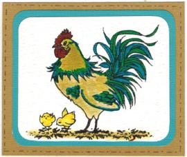 Cockadoodledoo Stempelset clear stamps