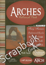 Arches NP Cardstock stickers