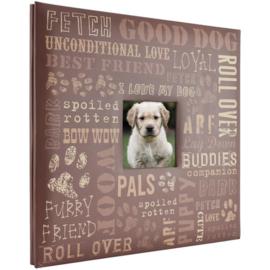 Mijn huisdier  Scrapbook album in honden thema