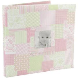 Mooi roze scrapbook album voor een meisje