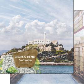 Alcatraz SF- dubbelzijdig 12x12 Paper