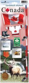 Canada Scrapbook thema stickers 2