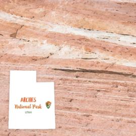 Arches National Park / Utah - scrapbook customs - dubbelzijdig 12x12 inch
