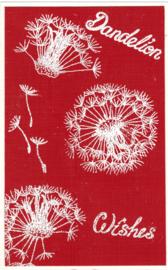 Dandelion - Paardenbloem clear stempels 15x20 cm
