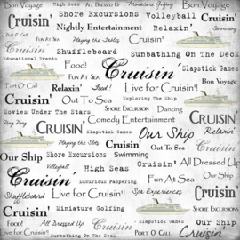 Live for Cruisin' - 30.5 x 30.5 cm scrappapier