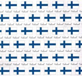 Finland - Adventure Border - 12 x 12 Paper