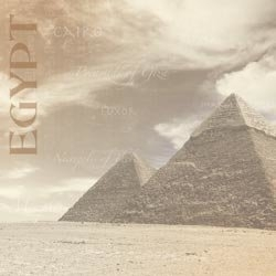 Great Pyramids papier Egypte 30.5 x 30.5 cm