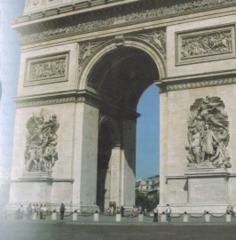 Arc de Triomph papier 30.5 x 30.5 cm