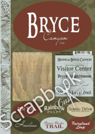 Bryce NP Cardstock stickers