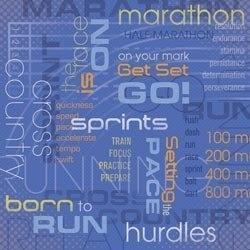 Marathon scrapbook papier 30.5 x 30.5 cm
