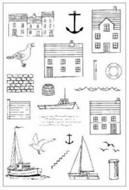 Clear stamps - Harbour stempelset