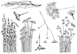 Wildflowers stempels