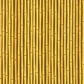 Paradise Bamboo - getekend scrapbooking papier - 12 x 12 inch
