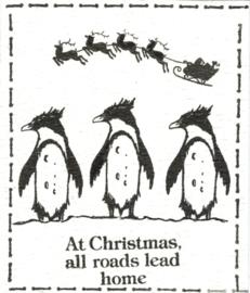Kerst stempels - Pole's apart