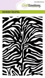 Tijger/Zebra print  - A6 Clearstempels