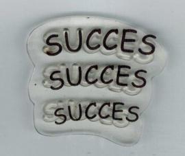 Succes clear stempel