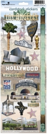 Hollywood scrapbook stickers decoratie stickers - Los Angeles - Sticky pix - Paper House