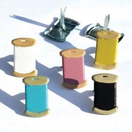 Klosjes Garen hobby splitpennen 5 kleuren 12 stuks