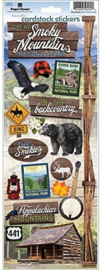 Foto scrapbook stickers - Smoky Mountains