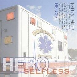 Ambulance Tekst papier 30.5 x 30.5 cm