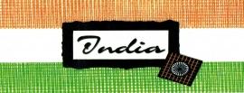India title tag - karton 5 x 13,5 cm