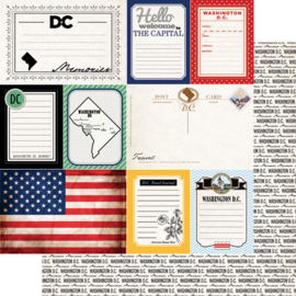 Washington DC - Journal - scrapbookpapier