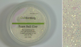 Foam ball clay