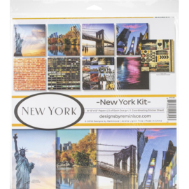 New York paperkit - 30.5 x 30.5 centimeter