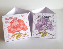 Peonies - Clear stempel set
