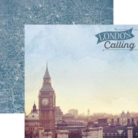 London Calling - Scrapbookpapier - 30.5 x 30.5 centimeter