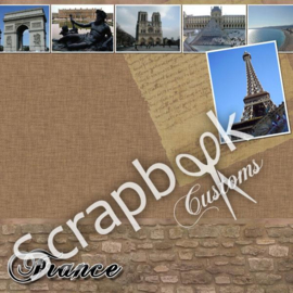 France/Paris met foto's - scrapbookpapier