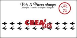 vogelpootjes Clearstamp Bits&Pieces no. 74