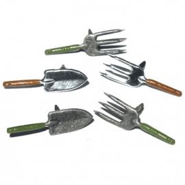 Eyelet Outlet QBRD-59 Eyelet Outlet Shape Brads 12-Pkg-Garden Tools