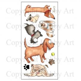 Dogz clearstamps - Hobby art ltd