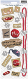 Foto scrapbook stickers - Katten thema