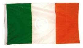 Ierse vlag - stans decoratie - 9x5 cm