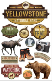 Yellowstone stickers