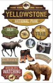 Yellowstone stickers