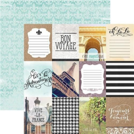 Paris Tags - scrapbookpapier