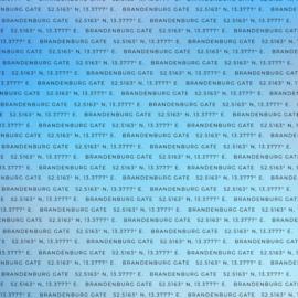 Brandenburg Gate - Germany 30.5 x 30.5 cm scrapbook paper