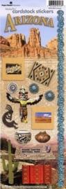 Arizona Scrapbook thema decoratie stickers
