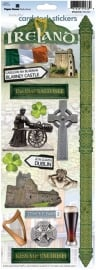 Ireland scrapbook stickers Paperhouse sticky Pix