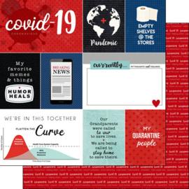 Covid-19  Journal - 30.5 x 30.5 centimeter