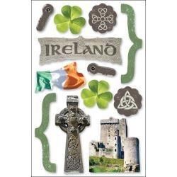 Geluk zoeken in Ierland - 3D stickers