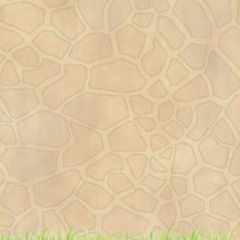 Giraf -  watercolor - 30.5x30.5 cm - dubbelzijdig scrapbookpapier
