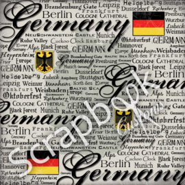 Germany Scratchy - papier 30,5 x 30,5