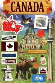 Stickers Travel Canada